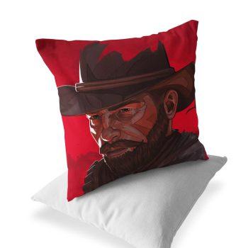 arthur-morgan-red-design-pillow-size-40×40-code-126-03